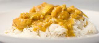 Risultati immagini per riso con mele e curry