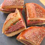 Muffolette da pane sacro a sandwich